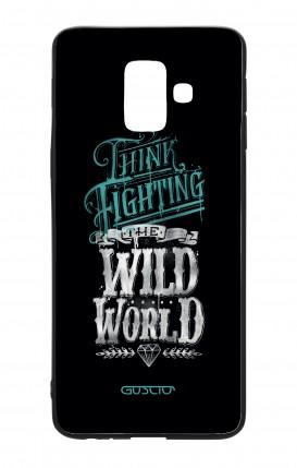 Cover Bicomponente Samsung A6 WHT - Wild World