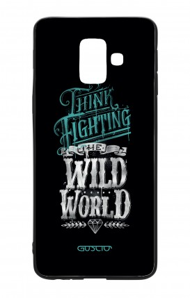 Samsung A6 WHT Two-Component Cover - Wild World