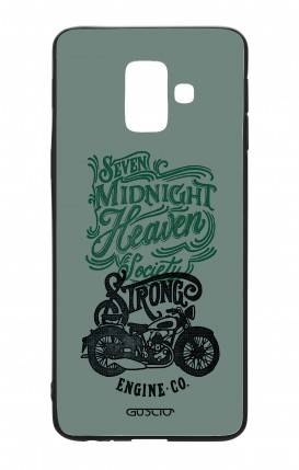 Cover Bicomponente Samsung A6 WHT - Strong Engine
