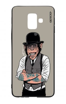 Samsung A6 WHT Two-Component Cover - Derby Monkey