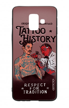 Samsung A6 WHT Two-Component Cover - Tattoo History