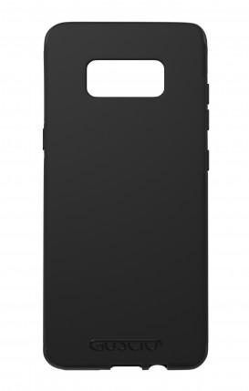 Cover Skin Feeling Samsung S8 BLACK - Logo