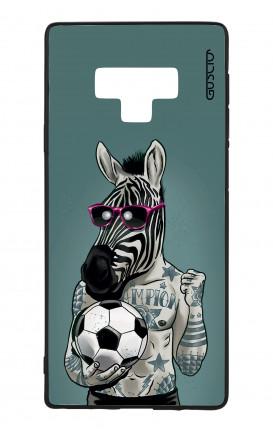Cover Bicomponente Samsung Note 9 WHT - Zebra