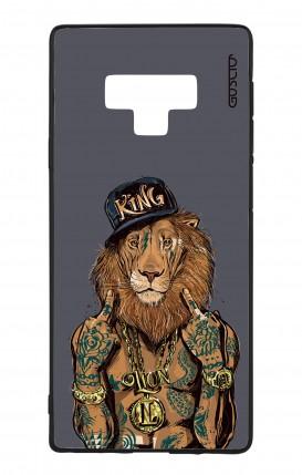Cover Bicomponente Samsung Note 9 WHT - Lion King grigio