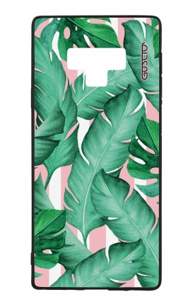 Samsung Note 9 WHT Two-Component Cover - Banano Leaves Pattern