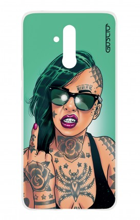 Cover HUAWEI Mate 20 Lite - Girl in Green