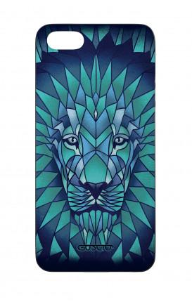 Cover Bicomponente Apple iPhone 5/5s/SE  - leone prismatico