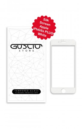 Tempered Glass SilkScreen - Apple iphone 6/6sPlus WHT - Neutro