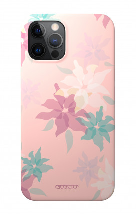 """1. Cover Soft Touch Apple iPhone 12 PRO MAX 6.7"""" - Soft Flower"""