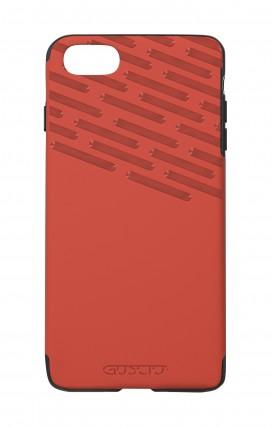 Cover Skin Feeling Apple iPhone 7/8 RED - Hatchings