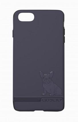 Cover Skin Feeling Apple iphone 7/8 BLU - French Bulldog