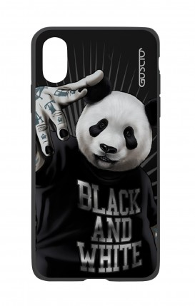 Apple iPhone XR Two-Component Cover - B&W Panda