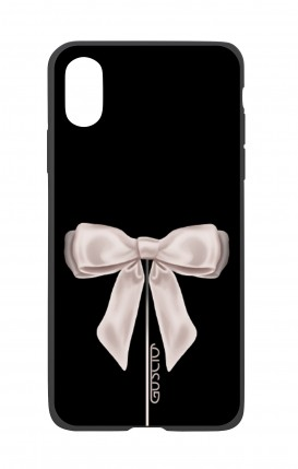 Apple iPhone XR Two-Component Cover - Satin White Ribbon