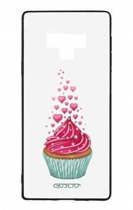 Cover Bicomponente Samsung Note 9 WHT - Dolcetto e cuoricini bianco