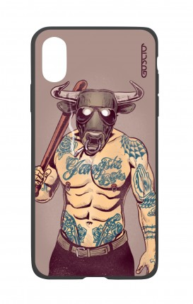 Apple iPhone XR Two-Component Cover - Bull