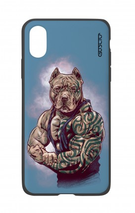 Cover Bicomponente Apple iPhone XR - Pitbull Tattoo
