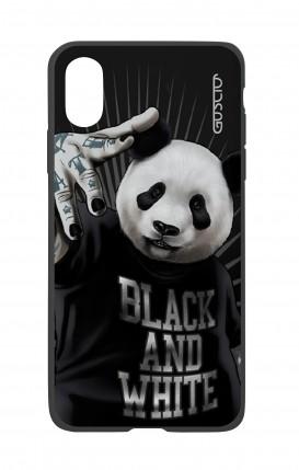 Cover Bicomponente Apple iPhone XS MAX - Panda rap