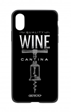 Apple iPh XS MAX WHT Two-Component Cover - Wine Cantina
