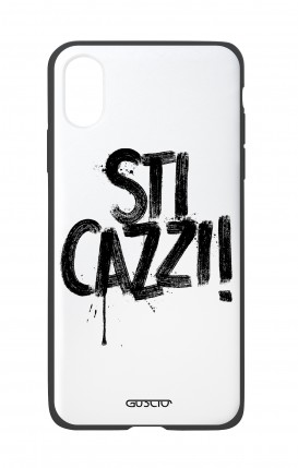Apple iPh XS MAX WHT Two-Component Cover - STI CAZZI 2