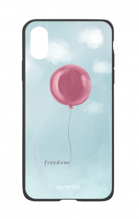Apple iPh XS MAX WHT Two-Component Cover - Freedom Ballon