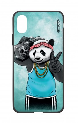 Apple iPh XS MAX WHT Two-Component Cover - Eighty Panda