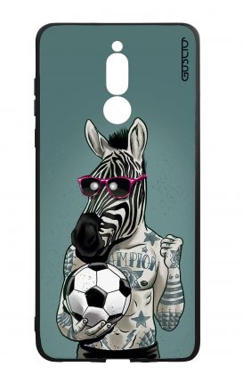 Huawei Mate10Lite WHT Two-Component Cover - Zebra