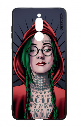Huawei Mate10Lite WHT Two-Component Cover - Red Hood Girl