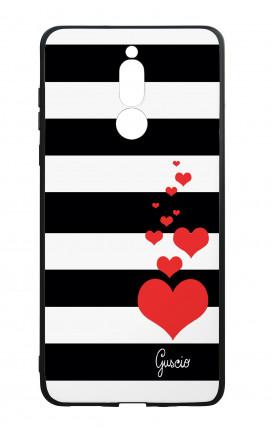Cover Bicomponente Huawei Mate 10 Lite - Loving Stripes