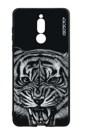 Huawei Mate10Lite WHT Two-Component Cover - Black Tiger