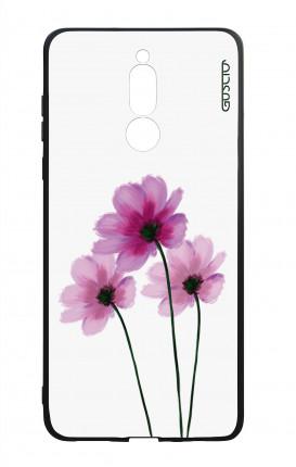 Cover Bicomponente Huawei Mate 10 Lite - Fiori su bianco