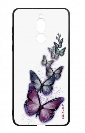 Cover Bicomponente Huawei Mate 10 Lite - Volo di farfalle