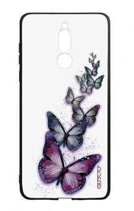 Huawei Mate10Lite WHT Two-Component Cover - Butterflies