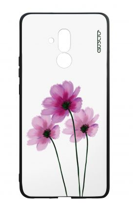 Huawei Mate20Lite WHT Two-Component Cover - Flowers on white
