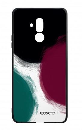 Cover Bicomponente Huawei Mate 20 Lite - Grandi pois