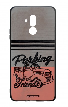 Huawei Mate20Lite WHT Two-Component Cover - Parking Friends