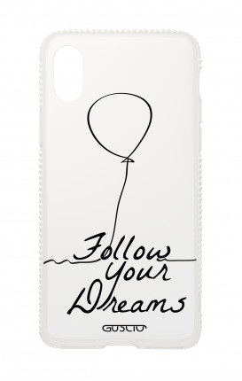 Apple iphone XS MAX Diamonds cover - Follow your dream