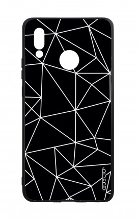 Huawei P20Lite WHT Two-Component Cover - Geometric Abstract