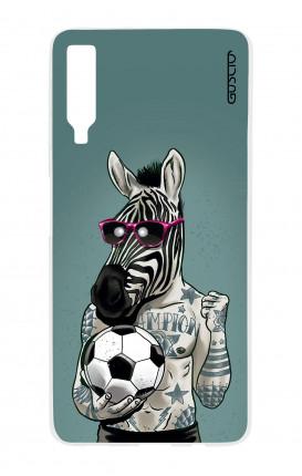 Cover Samsung A7 2018 - Zebra