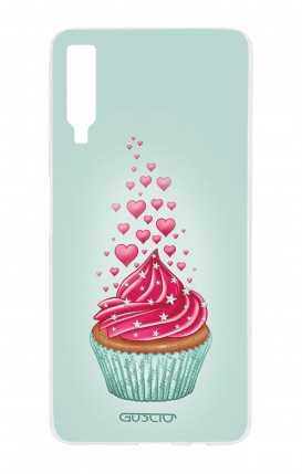 Cover Samsung A7 2018 - Cupcake in Love