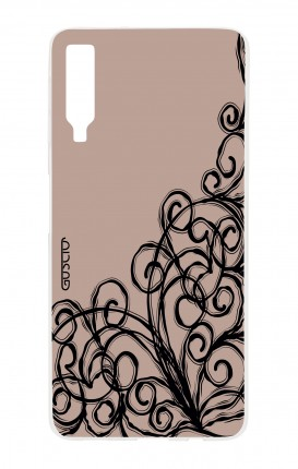 Cover Samsung A7 2018 - Lace Chocolate