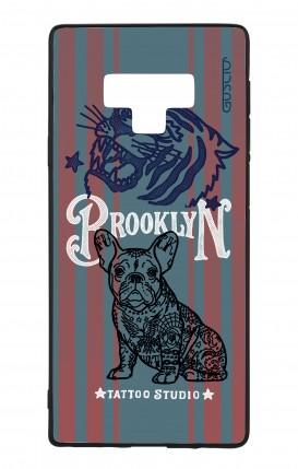 Cover Bicomponente Samsung Note 9 WHT - Brooklyn Tattoo Studio