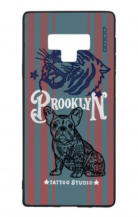 Samsung Note 9 WHT Two-Component Cover - Brooklyn Tattoo Studio