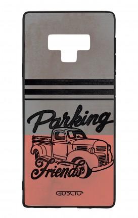 Cover Bicomponente Samsung Note 9 WHT - Parking Friends
