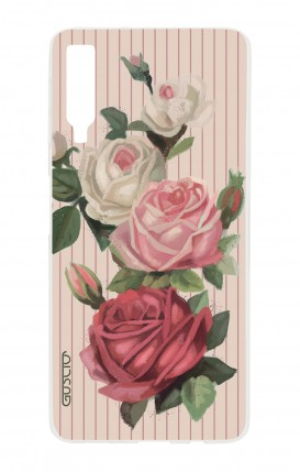 Cover Samsung A7 2018 - Roses and stripes