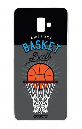Cover Samsung J6 Plus - Palla da basket