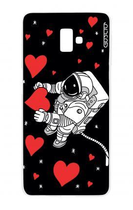 Cover TPU Samsung J6 Plus - L'amore nello spazio