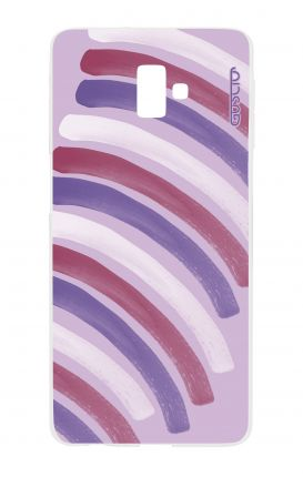 Cover Samsung J6 Plus - Pink Stripes