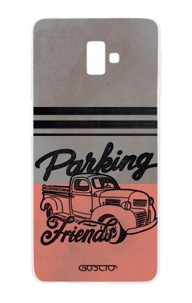 Cover TPU Samsung J6 Plus - Parking Friends