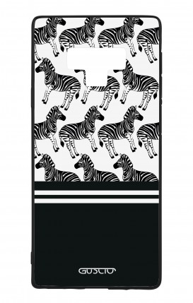 Samsung Note 9 WHT Two-Component Cover - Zebra Fantasy