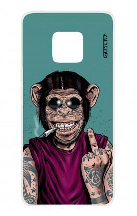 Cover TPU HUAWEI Mate 20 PRO - Scimmia felice